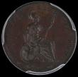 London Coins : A169 : Lot 1375 : Farthing 1839 Bronzed Proof, Reverse inverted, Peck 1557, by far the rarer of the two die axis align...