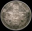 London Coins : A169 : Lot 1467 : Florin 1878 ESC 849, Bull 2889, No WW, Die Number 2, Fine or better/NVF