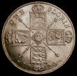 London Coins : A169 : Lot 1481 : Florin 1920 ESC 939, Bull 3765, Davies 1744 dies 2E, The obverse with the early George V head in hig...