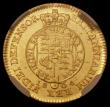 London Coins : A169 : Lot 1500 : Half Guinea 1804 S.3737 in an NGC holder and graded MS62, we note that we have offered over 40 examp...