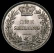 London Coins : A169 : Lot 1748 : Shilling 1872 ESC 1324, Bull 3042, Die Number 36, a choice example with practically full original mi...