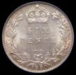 London Coins : A169 : Lot 1827 : Sixpence 1899 ESC 1769, Bull 3292 A choice piece the obverse with mint lustre with hints of toning i...