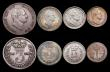 London Coins : A169 : Lot 2014 : CGS slabbed items (5) Threepence 1834 CGS variety 01 Fine, slabbed and graded CGS 20. Maundy Twopenc...