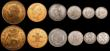 London Coins : A169 : Lot 2072 : LCGS slabbed items (11) Halfcrown 1923 ESC 770, Bull 3724 slabbed and graded LCGS 65, Florins (3) 19...
