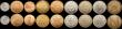London Coins : A169 : Lot 2095 : Royal Mint Trial pieces (18) a fascinating group contains pieces from many of the recognised trial s...