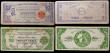 London Coins : A169 : Lot 241 : Philippines Guerrilla Notes 1941-1943 (100) 20 Pesos (20), 10 Pesos (20), 5 Pesos (20), 2 Pesos (20)...