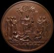 London Coins : A169 : Lot 338 : Golden Jubilee of Queen Victoria 1887 Eimer 1733b 77mm diameter in Bronze The official Royal Mint is...
