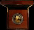 London Coins : A169 : Lot 460 : Five Hundred Pounds  Britannia 2020 5oz. .999 Gold Proof with the new Standing Britannia reverse des...