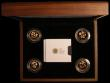London Coins : A169 : Lot 562 : One Pounds Floral Collection Gold Proof 4 coin set comprising One Pounds (4) 2013 Wales, 2013 Englan...