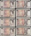 London Coins : A169 : Lot 67 : Ten Pounds Page QE2 pictorial & Florence Nightingale B330 issues 1975 (7) all circulated in vari...