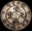 London Coins : A169 : Lot 876 : China - Hupeh Province Dollar undated (1909-1911) Y#131 near VF, the reverse toned