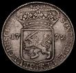 London Coins : A170 : Lot 1131 : Netherlands - Zeeland Silver Ducat 1772 KM#52.4 Good Fine with some weaker areas