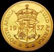 London Coins : A170 : Lot 1187 : South Africa INA Fantasy Crown 1937 Edward VIII crowned and draped bust with KING EMPEROR legend, in...
