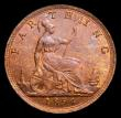 London Coins : A170 : Lot 1512 : Farthing 1894 Freeman 569 dies 7+F, UNC and attractively tones, in an LCGS holder and graded LCGS 82