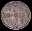 London Coins : A170 : Lot 1536 : Florin 1849 ESC 802, Bull 2815 UNC or very near so, with a minor contact mark behind the bust otherw...