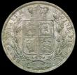 London Coins : A170 : Lot 1802 : Halfcrown 1883 ESC 711, Bull 2762 UNC with cartwheel lustre, and a beautiful light 'satiny'...