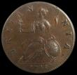 London Coins : A170 : Lot 1862 : Halfpenny 1748 Peck 878 UNC and choice, in an LCGS holder and graded LCGS 80. The Finest known of ju...