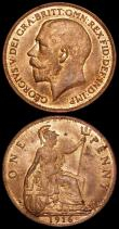 London Coins : A170 : Lot 1926 : Pennies 1916 Freeman 180 dies 2+B (2) both UNC and lustrous, each with a few small spots