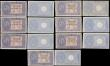 London Coins : A170 : Lot 203 : Italy early Biglietto Di Stato issues (21) all in various grades averaging Fine/VF to about UNC/UNC ...