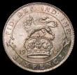 London Coins : A170 : Lot 2110 : Sixpence 1915 ESC 1800, Bull 3876, Choice UNC and lustrous with a hint of gold toning, in an LCGS ho...