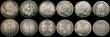 London Coins : A170 : Lot 2538 : Maundy Odds (13) Penny 1898, 1901, 1902 (2). Twopence 1772, 1893, 1901.  Threepence 1681, 1762 (dama...
