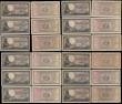 London Coins : A170 : Lot 257 : South Africa Reserve Bank issues 1930-40s to 1960's (18) a fabulous selection of various denomi...