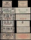 London Coins : A170 : Lot 271 : World (10) an interesting and very collectible group of notes in various grades mostly GVF - EF to a...