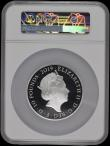 London Coins : A170 : Lot 697 : Ten Pounds 2019 200th Anniversary of the Birth of Queen Victoria 5oz. Silver Proof. S.M16, Reverse: ...