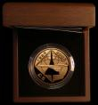 London Coins : A170 : Lot 754 : Alderney Five Pounds 2008 5th Anniversary of the last flight of Concorde Gold Proof KM#190b Reverse ...