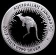 London Coins : A170 : Lot 766 : Australia 30 Dollars 2017P Kangaroo, 1 Kilo of Silver FDC in the Perth Mint box of issue, no certifi...