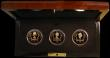 London Coins : A170 : Lot 781 : Channel Islands Five Pound Crowns - 'The Queen's 80th Birthday' a 3-coin set 2006 in ...