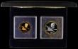 London Coins : A170 : Lot 901 : Turks and Caicos Islands 1979 a 2-coin Proof set 10th Anniversary of the Investiture of Prince Charl...