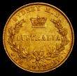 London Coins : A170 : Lot 930 : Australia Sovereign 1867 Sydney Branch Mint Marsh 372 GVF/NEF with some contact marks and a few smal...
