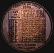 London Coins : A171 : Lot 1145 : North's Typewriter, Dessau's Calendar Medal 1895 38mm diameter in bronze by R.E.Daish Obv:...