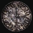 London Coins : A171 : Lot 1241 : Penny Aethelred Long Cross S.1151 London Mint, moneyer Brihtlaf, 1.34 grammes, Near EF and colourful...