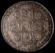 London Coins : A171 : Lot 1316 : Crown 1741 Roses ESC 123, Bull 1666 EF or better and seems conservatively graded by LCGS at 60