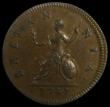 London Coins : A171 : Lot 1348 : Farthing 1741 Peck 885 GEF-AU and conservatively graded by LCGS at 70 and one of the first coins the...