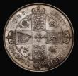 London Coins : A171 : Lot 1381 : Florin 1869 ESC 834, Bull 2867, Davies 749 dies 3A, Top Cross on reverse does not touch border beads...