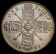 London Coins : A171 : Lot 1391 : Florin 1921 ESC 940, Bull 3768 in an LCGS holder and graded LCGS 80. A most attractive example of th...