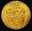 London Coins : A171 : Lot 1406 : Guinea 1774 S.3728 EF and lustrous with some light hairlines and very light adjustment lines, nevert...