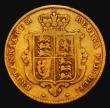 London Coins : A171 : Lot 1464 : Half Sovereign 1853 Marsh 427 Fine/approaching Fine