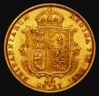 London Coins : A171 : Lot 1475 : Half Sovereign 1887 Jubilee Head, Imperfect J in J.E.B, Marsh 478C, DISH 501 VF
