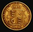 London Coins : A171 : Lot 1476 : Half Sovereign 1892 No J.E.B. on truncation, Lower shield S.3869D, DISH L516 Bold Fine/Good Fine