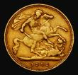 London Coins : A171 : Lot 1480 : Half Sovereign 1902 Marsh 505 About Fine/Fine