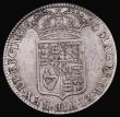 London Coins : A171 : Lot 1512 : Halfcrown 1690 GRETIA error legend, with V over S in GVLIELMVS, SECVNDO edge, ESC 514, Bull 848, Fin...