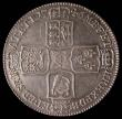 London Coins : A171 : Lot 1527 : Halfcrown 1746 LIMA ESC 606 EF and graded 65 by LCGS