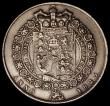London Coins : A171 : Lot 1534 : Halfcrown 1823 ESC 634, Bull 2365 Good Fine with pitted surfaces