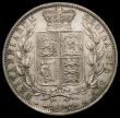 London Coins : A171 : Lot 1540 : Halfcrown 1886 ESC 715, Bull 2767 EF the reverse with a few light hairlines
