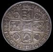 London Coins : A171 : Lot 1620 : Shilling 1745 Roses ESC 1204 GVF and graded 50 by LCGS