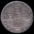 London Coins : A171 : Lot 1673 : Sixpence 1703 VIGO ESC 1582 GEF or better with some haymarking and graded 65 by LCGS